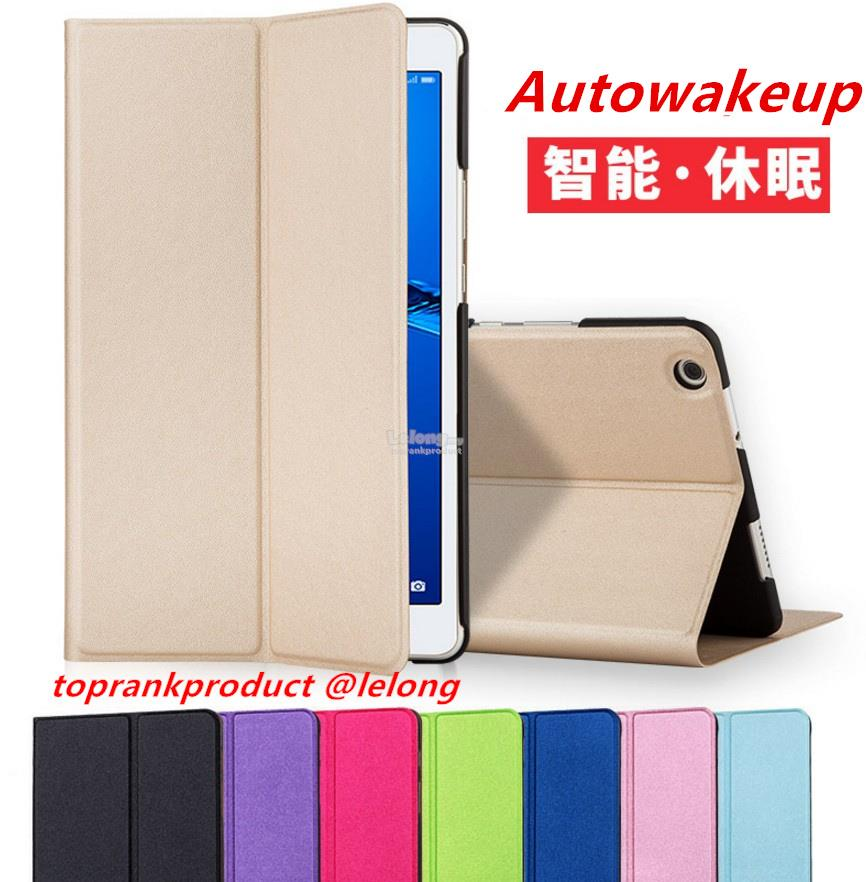 Huawei MediaPad M3 Lite 8.0 / 10.1 Flip Smart Case Cover Casing