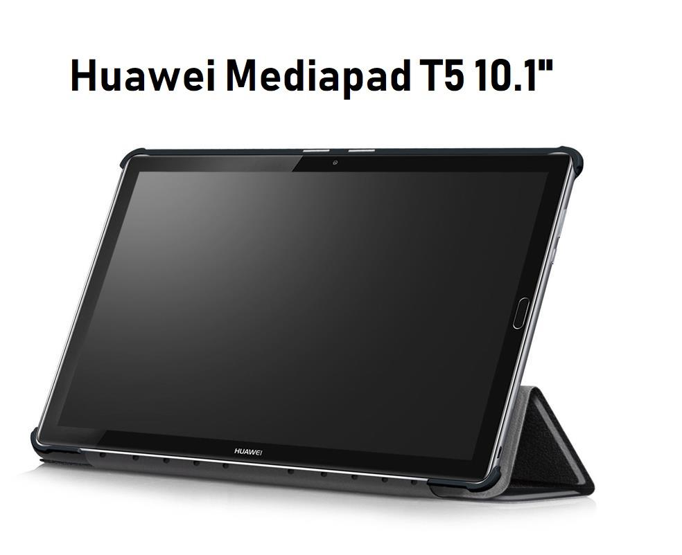 on sale a6c75 5abb1 Huawei Mediapad T5 10.1' PU Leather Standable Case Flip Cover