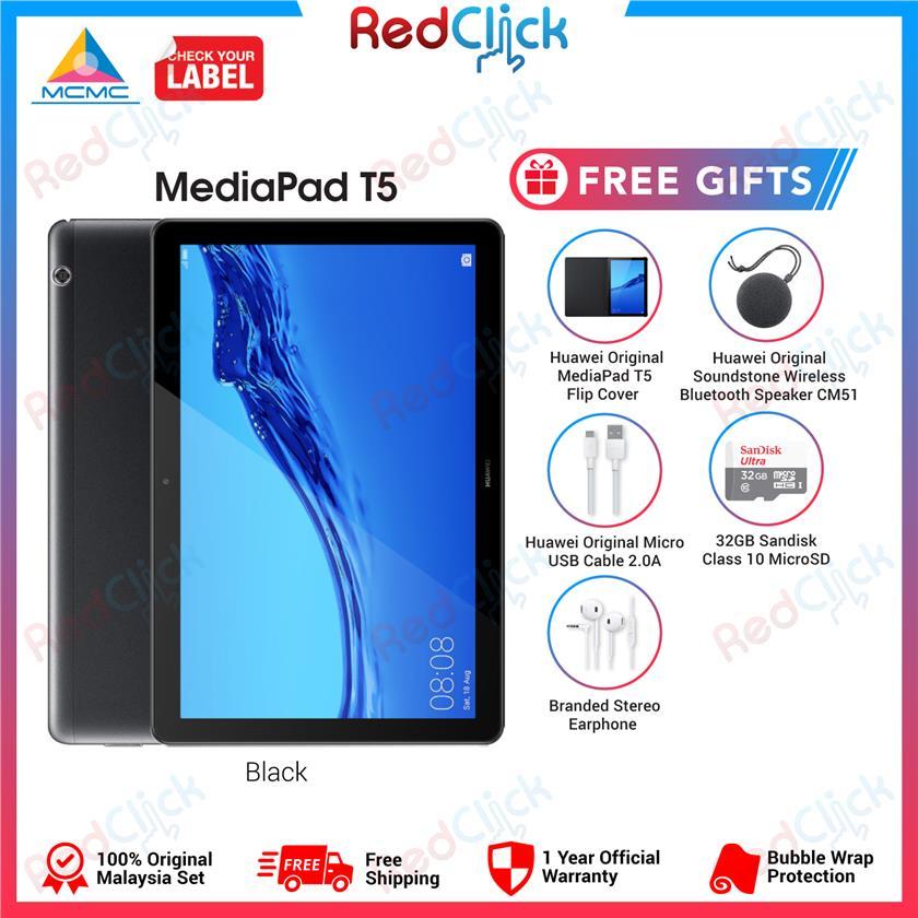 Huawei Mediapad T5 (3GB/32GB) + 5 Free Gift Worth RM299
