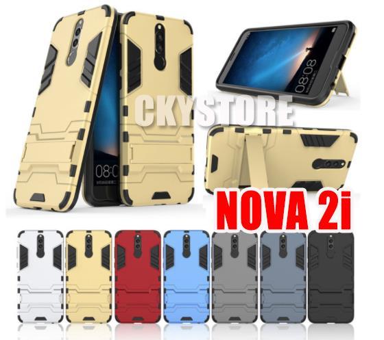 best website 3771e b4018 HUAWEI Nova 2i IRONMAN TRANSFORMER STANDABLE SLIM Case