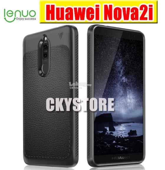HUAWEI Nova 2i LENUO New Leather Full Protection Back Case