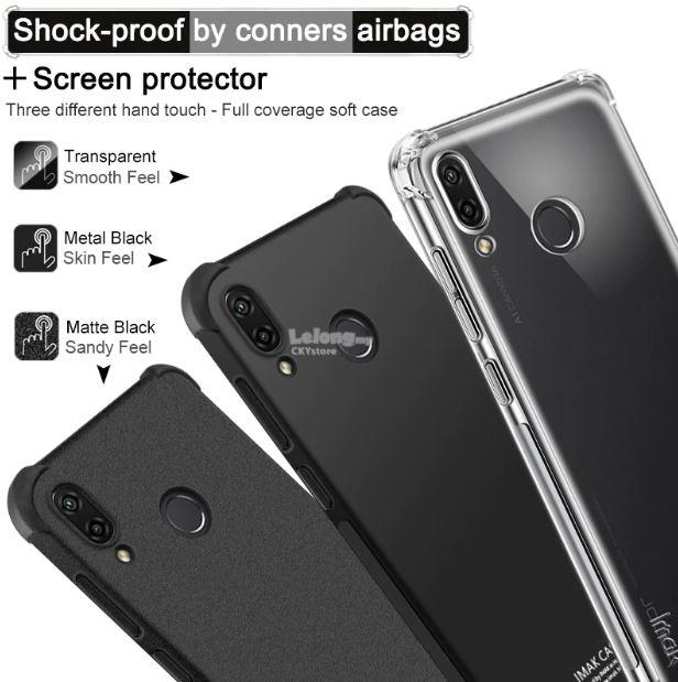 brand new de623 8262a HUAWEI NOVA 3 3i Honor 8X PLAY IMAK SHOCK- Resistant AIRBAG TPU Case