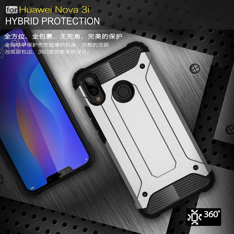 premium selection 91dbe 1b585 Huawei Nova 3 3i Spigen Tough Armor Hybrid Shockproof Case Cover
