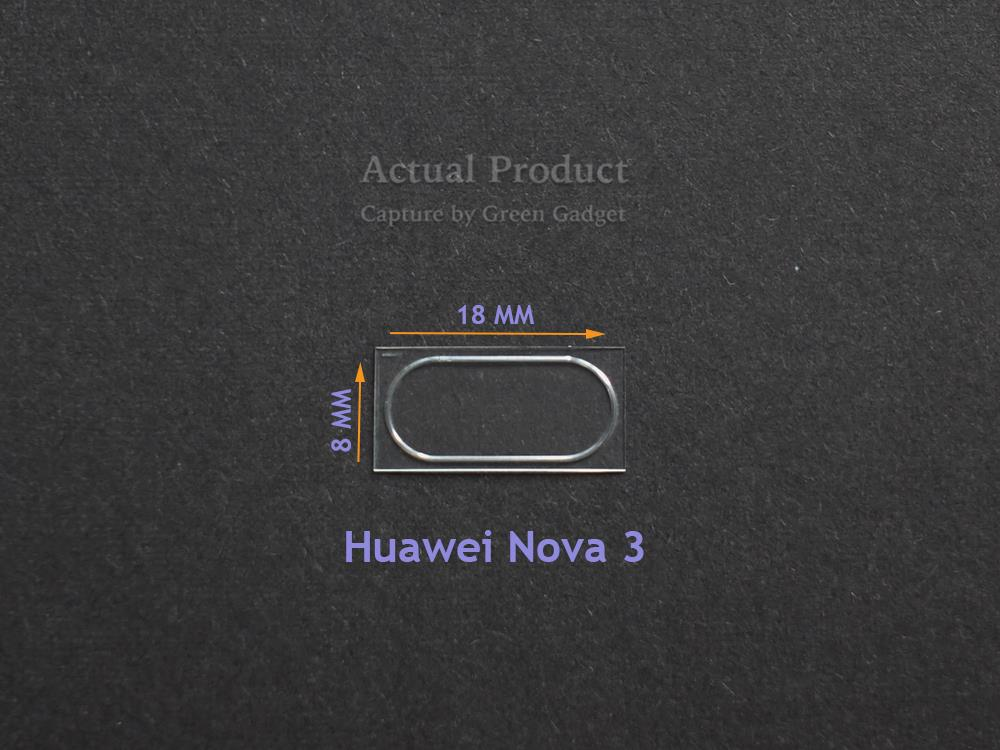 Huawei Nova 3 Camera Protector Flexible Glass 2.5D