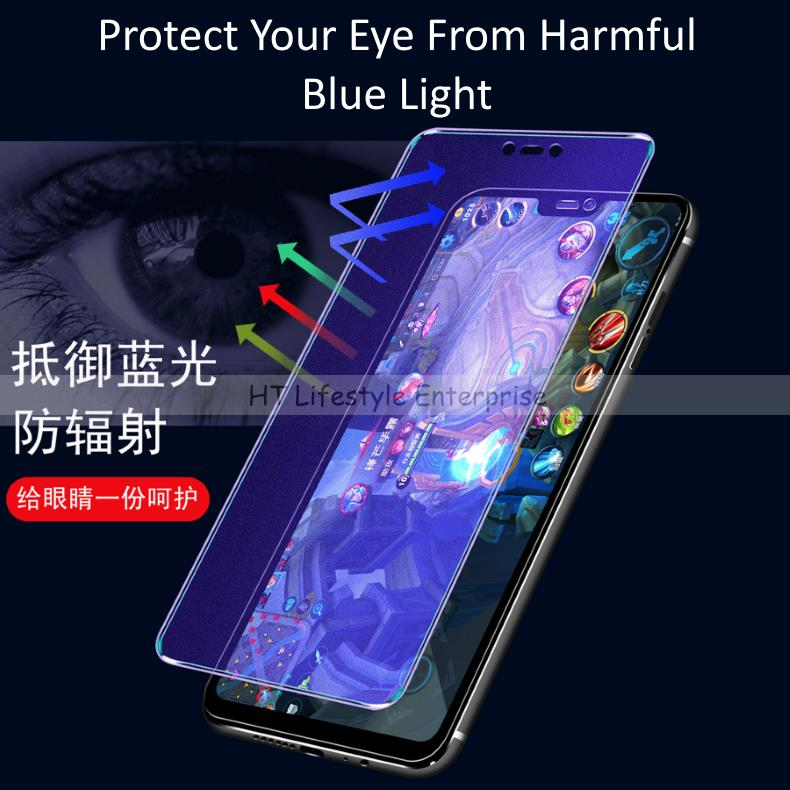 Huawei Nova 3e,3i,3 Anti-Fingerprint/Glare/Blue Ray Screen Protector