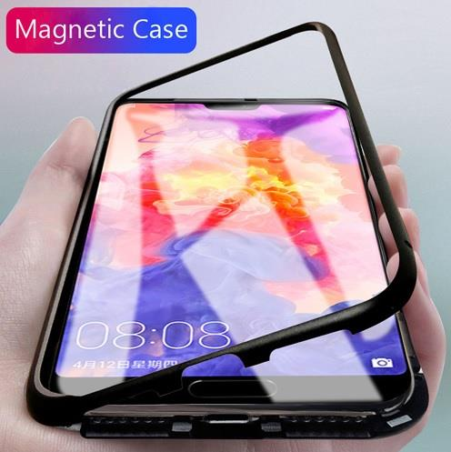buy popular a999d dae21 Huawei Nova 3i 3e 4 4e 360 Magnetic Magnet Absoption Metal Case