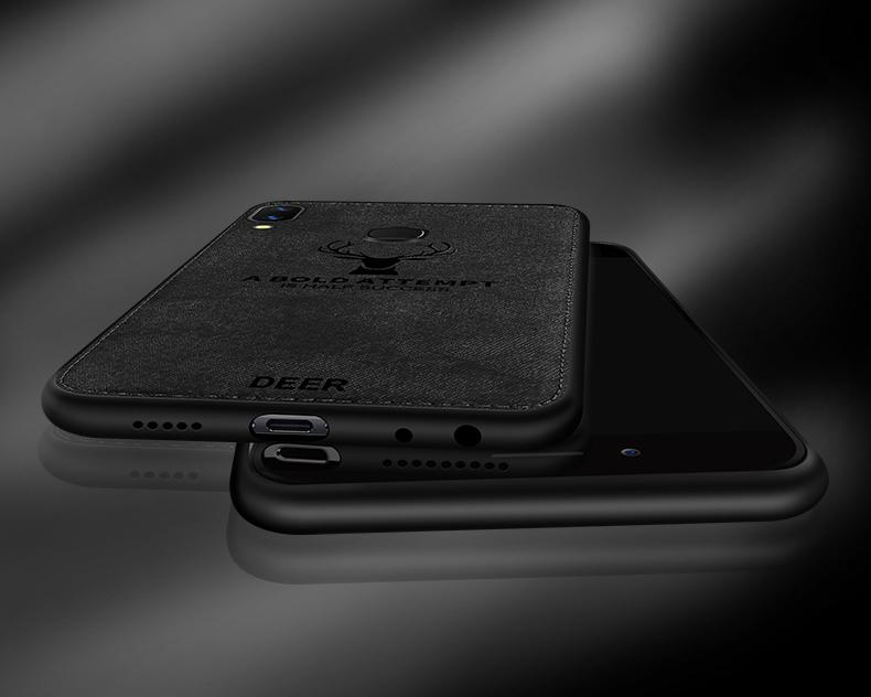 Huawei Nova 3i Nova 3E Honor Play Mate 9 Deer Fabric Soft Case Cover Casing