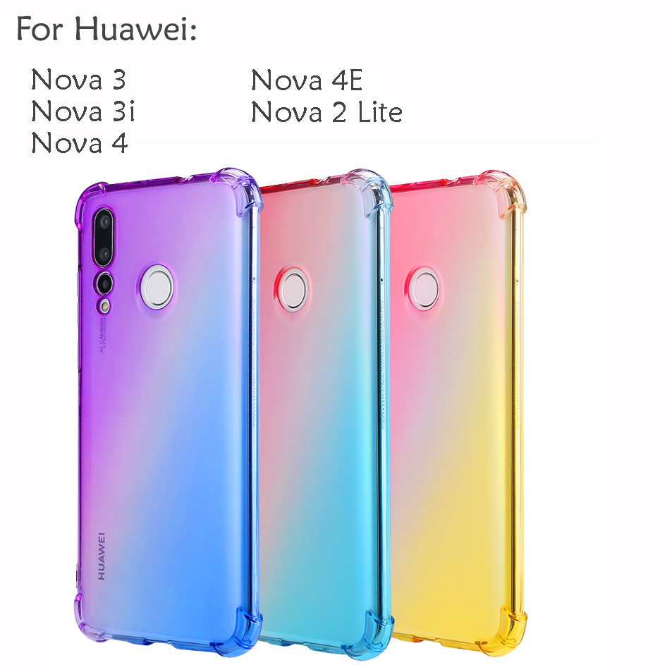 Huawei Nova 4 4E Nova 3 3i Nova 2 Lite Casing Case Cover Air Bag Anti