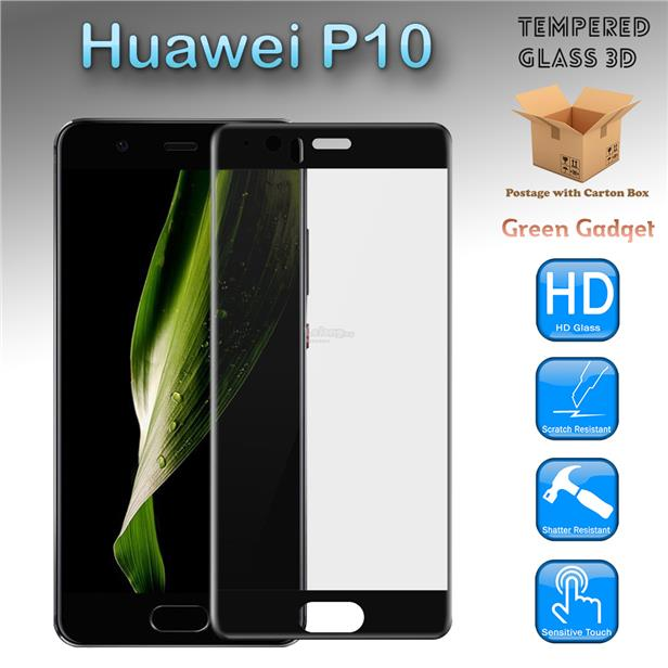 Huawei P10 Full Glue 3D Tempered Glass Screen Protector