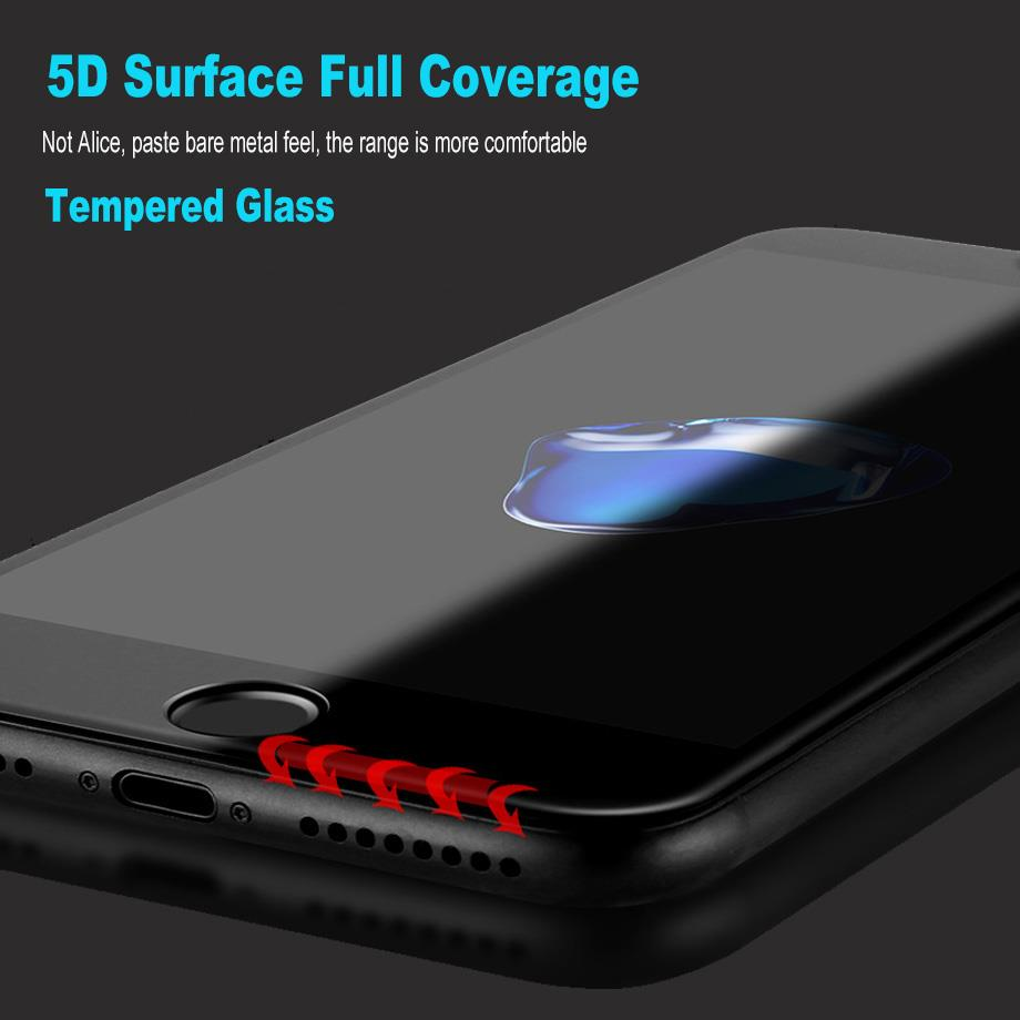 Huawei P10 Lite Plus 5D Full Cover Tempered Glass Screen Protector