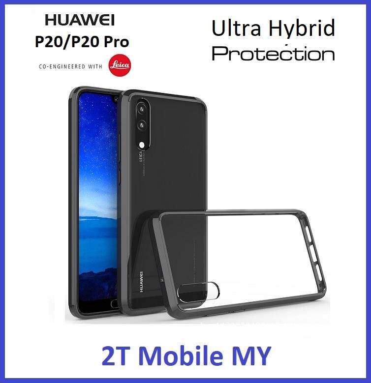 newest e0d30 62912 Huawei P20 / P20 Pro Air Hybrid TPU Case Slim Bumper Fusion Cover
