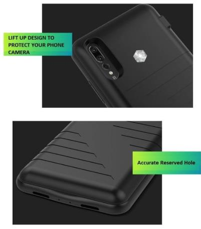 newest f66ad 4b163 HUAWEI P20 / P20 Pro Battery Phone Case Cover Casing Power Bank