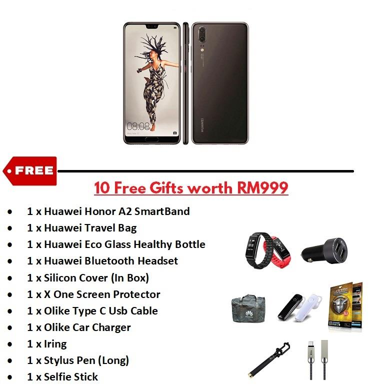 Huawei P20 | P20 Pro Available NOW Free Gifts worth RM999