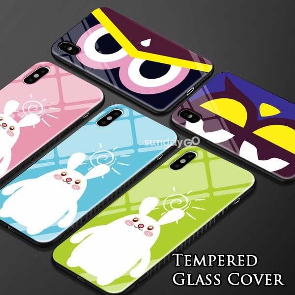 Huawei P20 | P20 Pro NICE Tempered Glass Bumper Case Back Cover