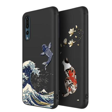 Huawei P20/P20 Pro silicon animals phone protection case casing cover