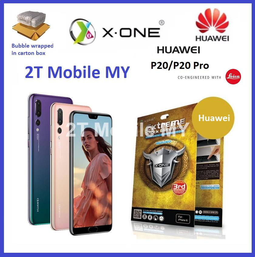 Huawei P20 / P20 Pro X-One Extreme Shock Eliminator Screen Protector