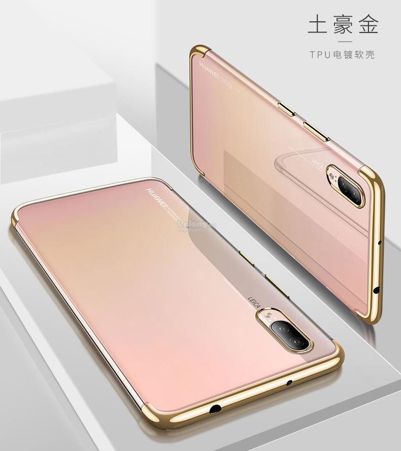 size 40 5ff5e a3b3c Huawei P20 Pro,P20 New Color ElectroPlating Soft TPU Case