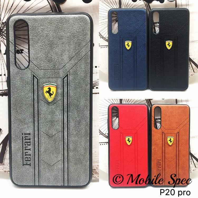HUAWEI P20 PRO Y9 2019 SOFT TPU SILICONE EXCLUSIVE FERRARI COVER CASE