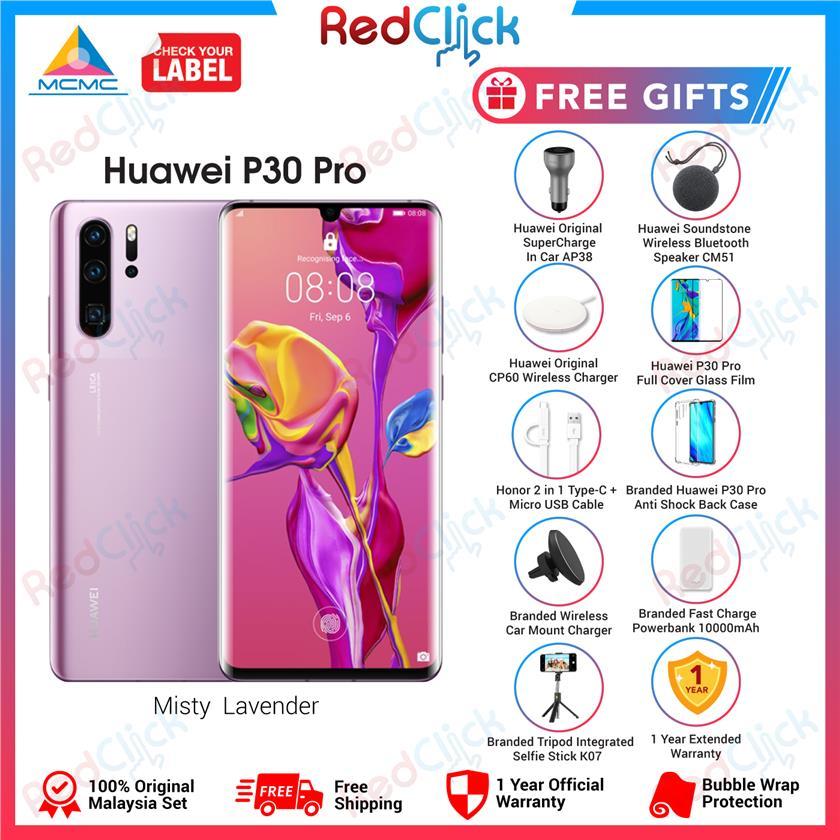 Huawei P30 Pro (8GB/256GB) + 9 Free Gift Worth RM899