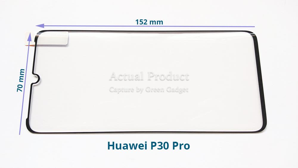 Huawei P30 Pro Full Glue Screen Protector 3D Tempered Glass