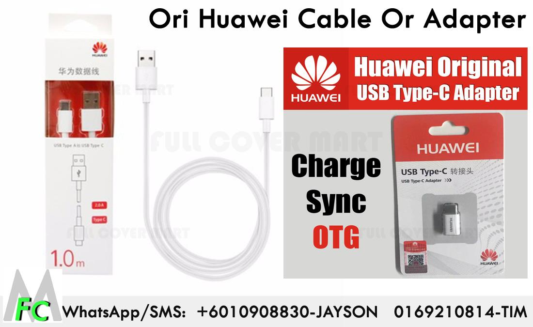 Huawei P9 P10 Plus ORIGINAL Type C 1M Data Sync Cable , Type C Adapter
