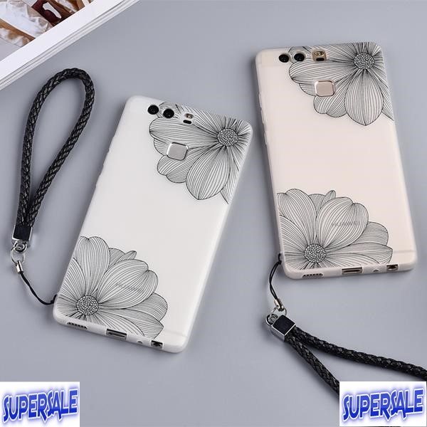 Huawei P9/P9 Plus frosted silicone drop soft shell case