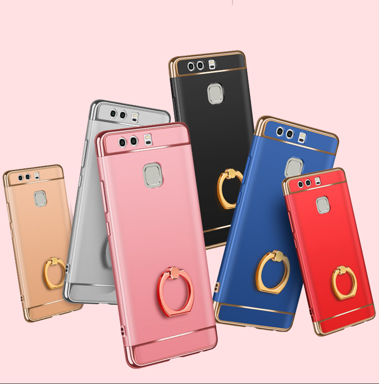 buy online 2c394 ab83c Huawei P9 P9 Plus P9 Lite Honor 5X Hard Case Cover Casing With I-Ring