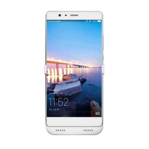 Huawei P9 Plus 4000mAh Backup Battery External Power Bank Charger Case  (White)
