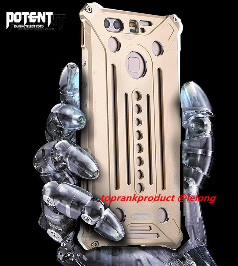 Huawei P9 / Plus Metal Armor Back Case Cover Casing + Free Gift