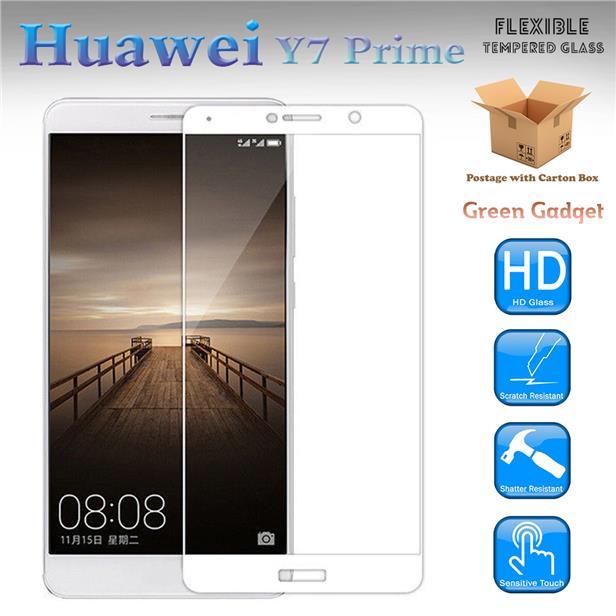 Huawei Y7 Prime Full Glue Flexible Glass Screen Protector