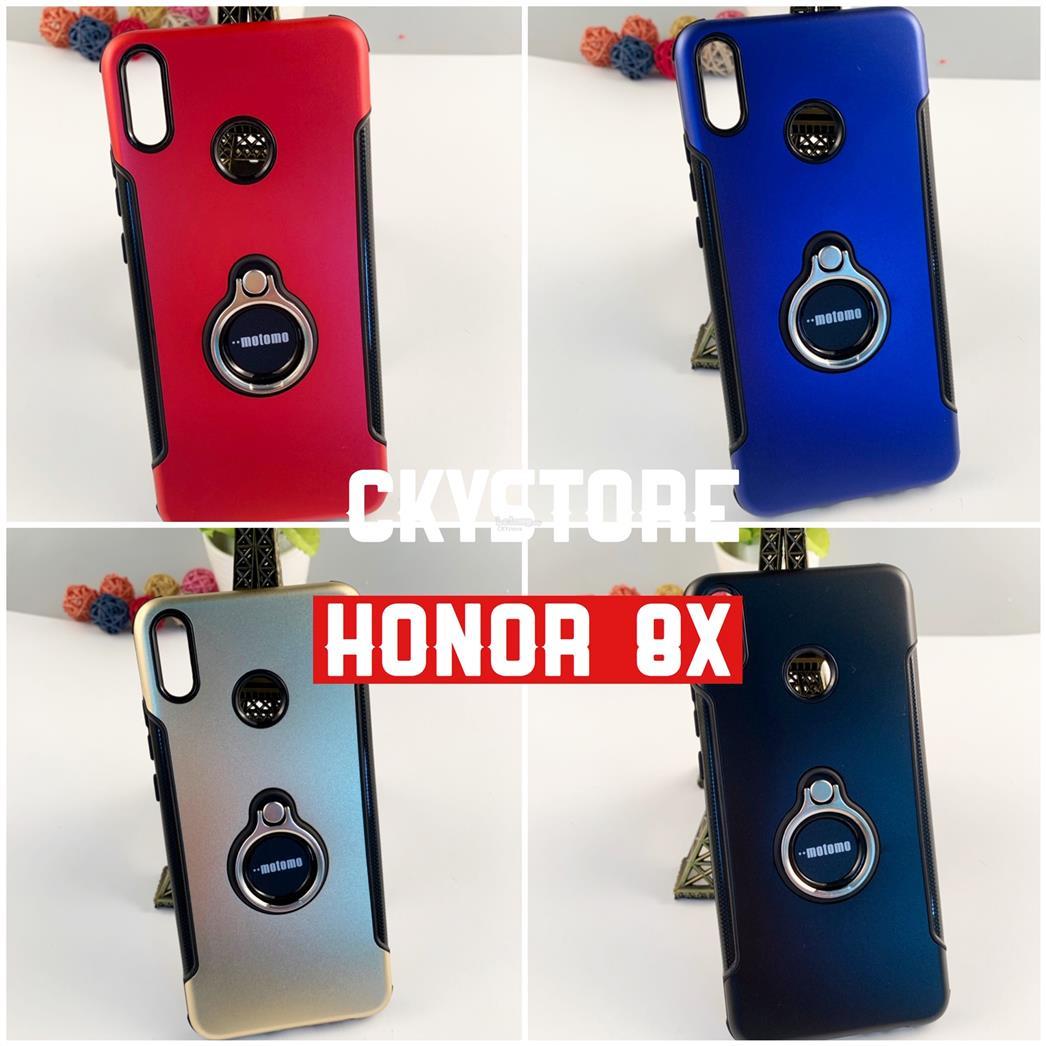new arrival f8c3a c9d29 Huawei Y7 Pro 2019 Honor 8X Nova 4 4E MOTOMO Standable IRING CASE
