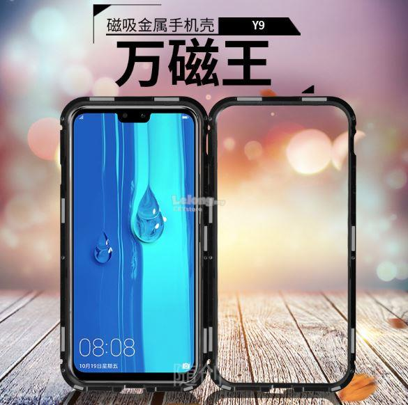 HUAWEI Y9 2019 OPPO A3S F9 F11 PRO MAGNETIC ABSORPTION METAL CASE