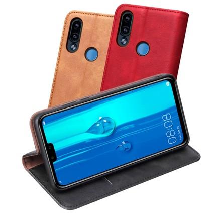 Huawei Y9 2019 real leather card slot wallet case casing cover