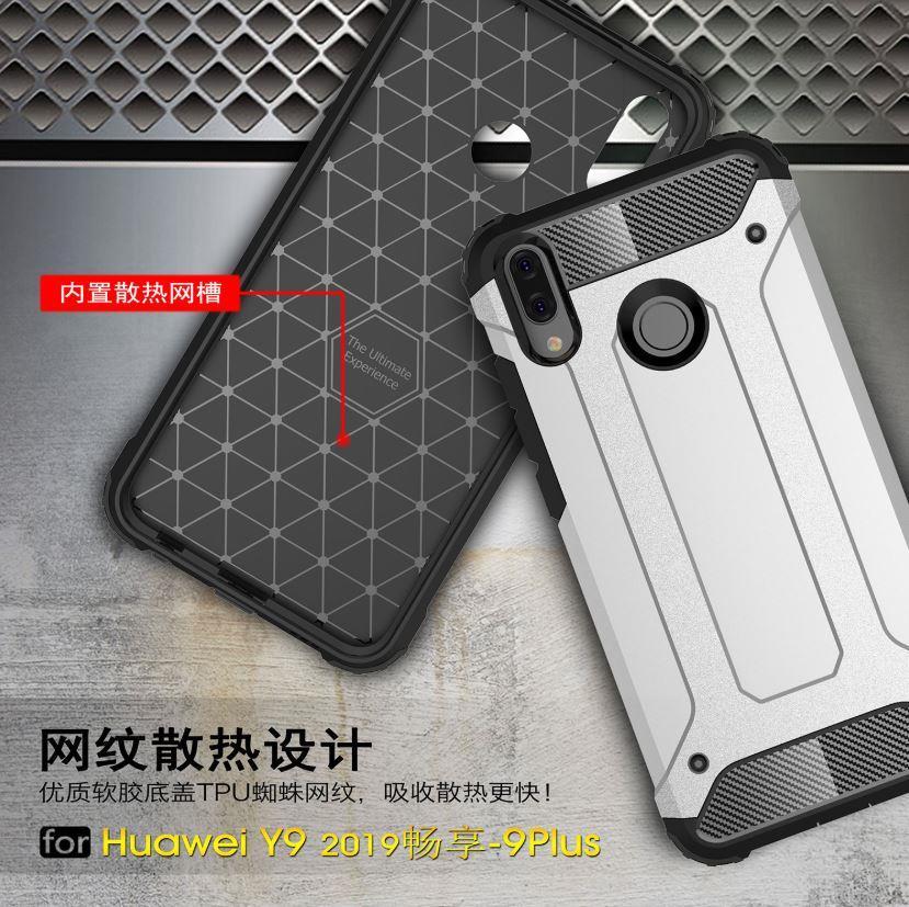 innovative design 11f24 c8ebb Huawei Y9 2019 Spigen Tough Armor Hybrid Shockproof Case Cover