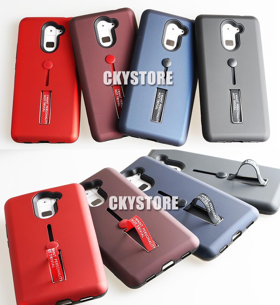 the best attitude 4d6ab e0d59 HUAWEI Y9 2019 Y7 PRIME NOVA 2i 3i 3E Hidden Ring Standable Case Cover