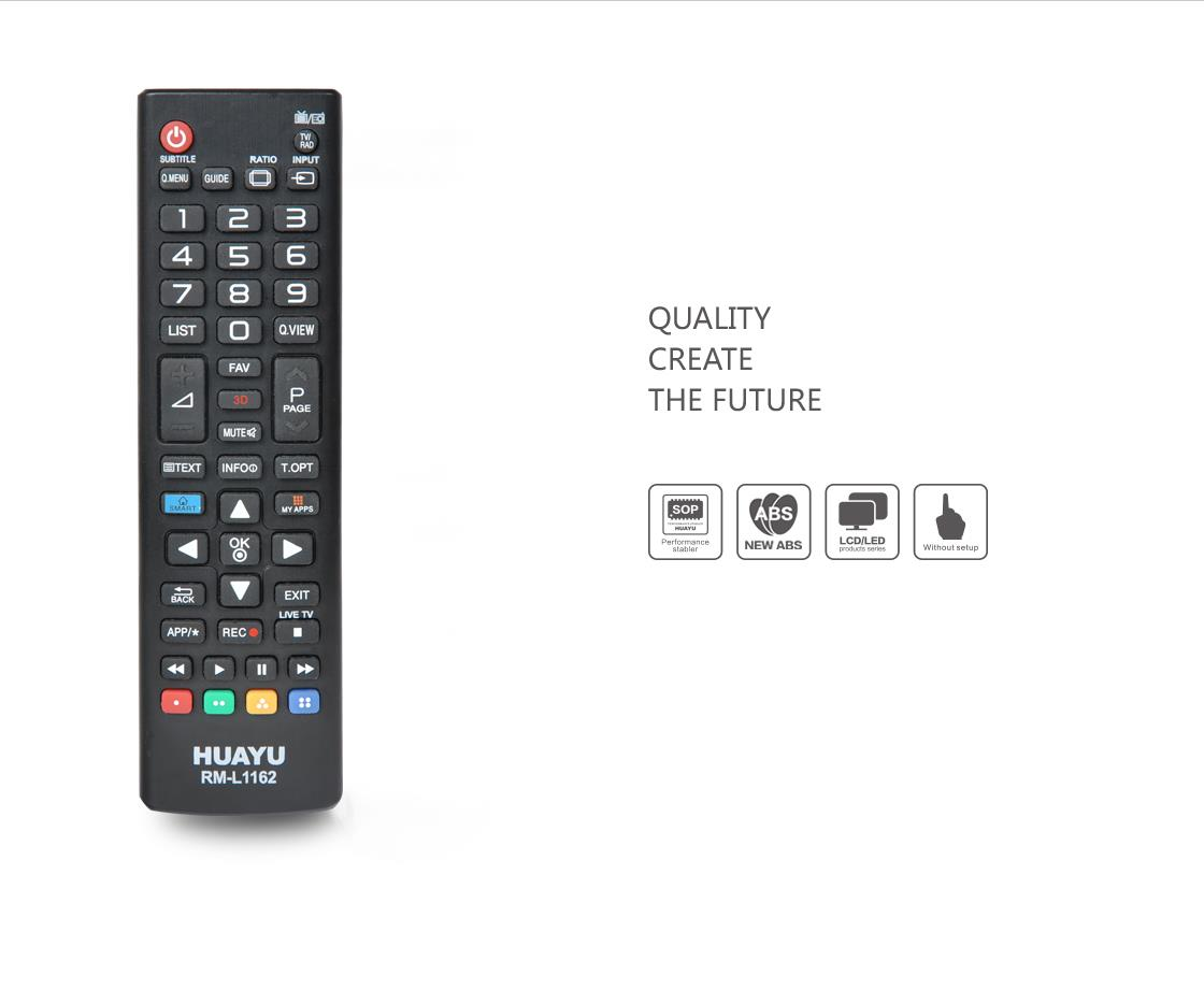 HUAYU LG REMOTE CONTROL REPLACEMENT (COMPATIBLE)