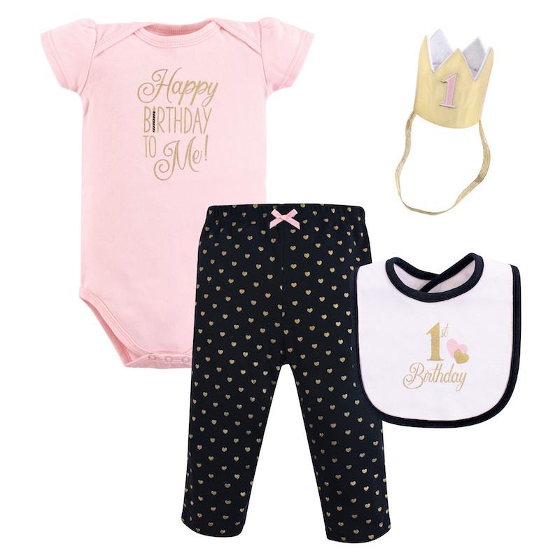 a5d95b672 Hudson Baby 1st Birthday 4pc Gift Se (end 6/9/2021 12:00 AM)
