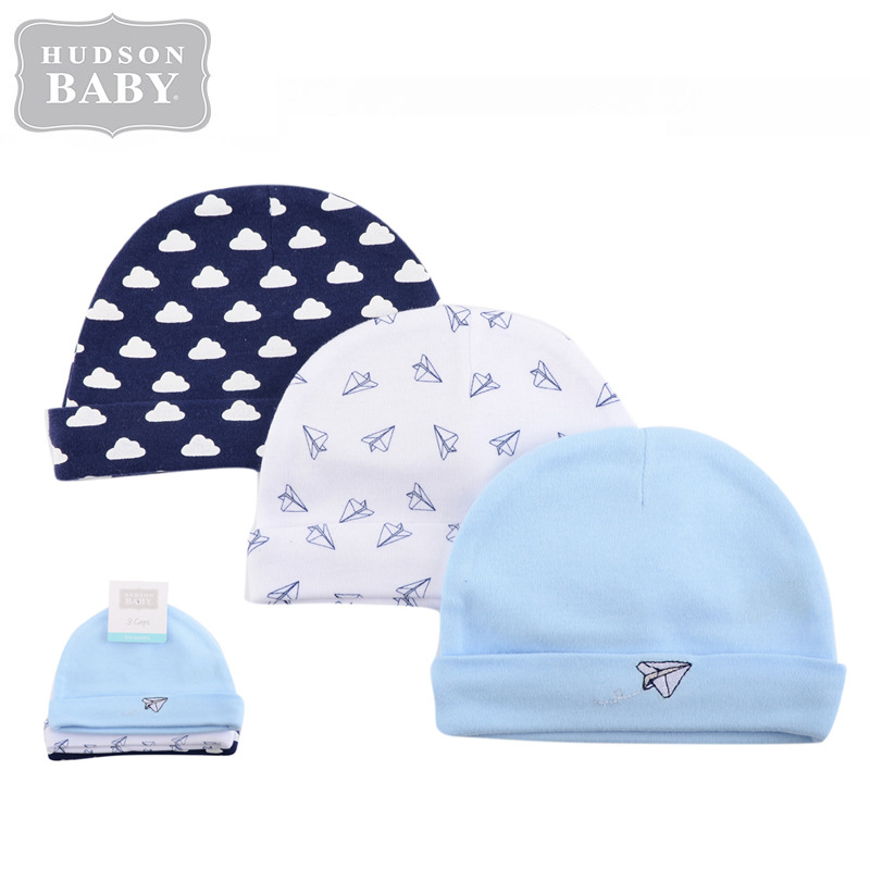 319bba653 Hudson Baby Newborn Baby Hat 3pcs 51 (end 6 13 2020 5 59 PM)