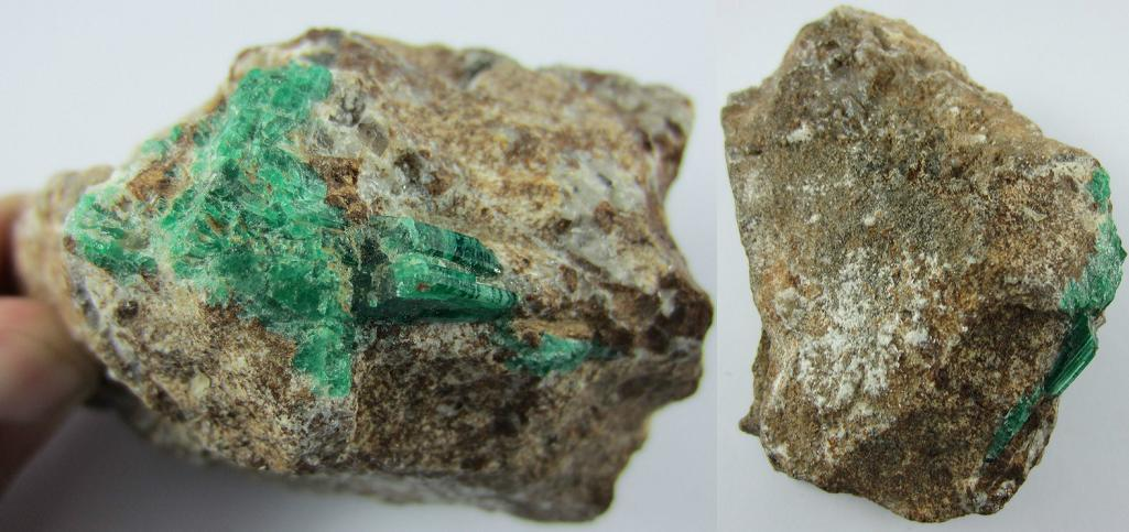 Huge!!! Green emerald rough stone from SWAT Pakistan - 1484CT - ER101