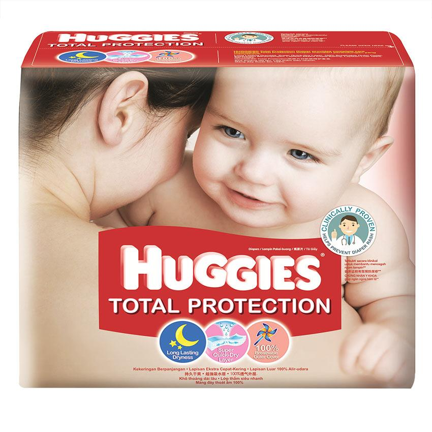Huggies Total Protection Super Jumbo Pack M64