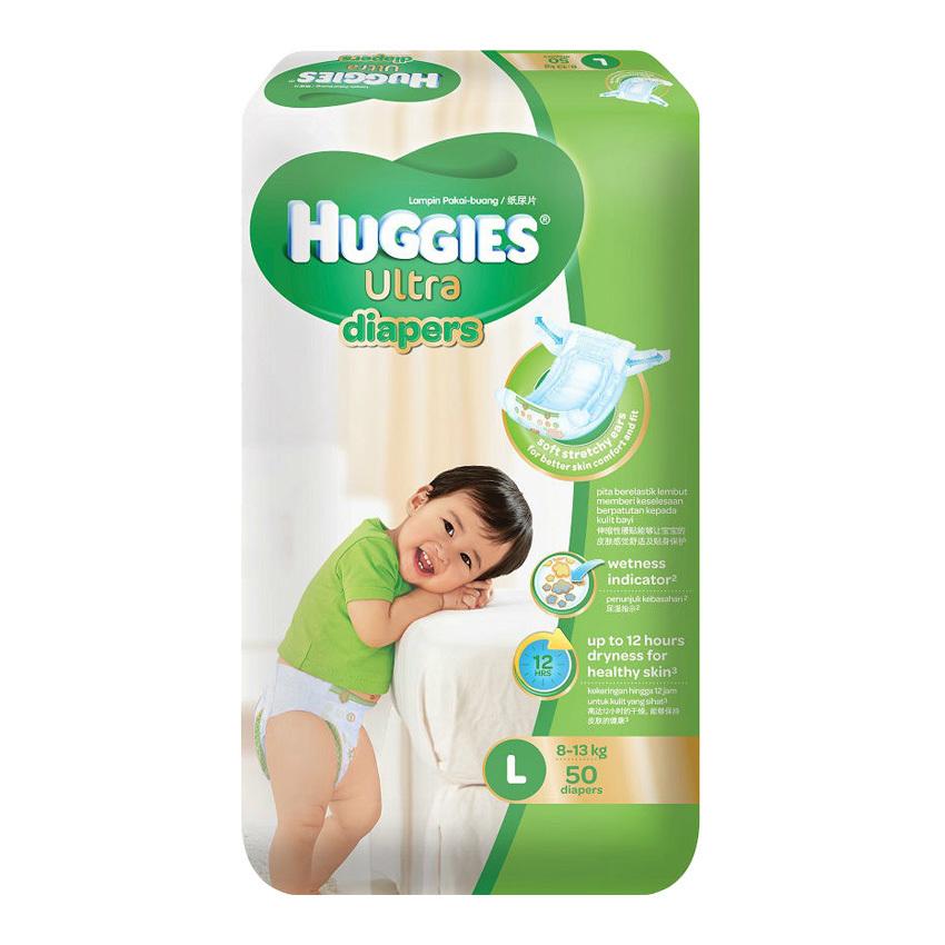 Huggies Ultra Diapers L50 x 3 Super (end 12/1/2020 8:24 PM)