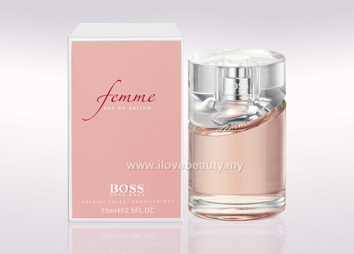 e1443690c8277 HUGO BOSS FEMME - WOMEN EDP 75ml    (end 5 19 2020 10 55 PM)