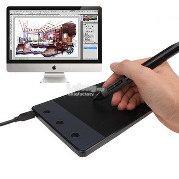 Huion H420 4' x 2 23' USB Art Design Graphic Drawing Tablet Pad + Pen