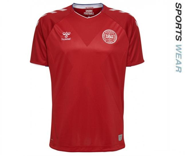 Hummel Denmark 2018 Home Shirt - Red 202576-3365 -202576-3365