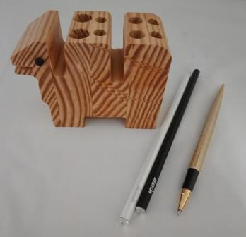 'Humpy' Wooden Pen/Pencil Cup