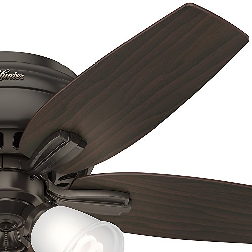 Hunter Fan Company 51078 Newsome Indoor Low Profile Ceiling Fan with LED Light
