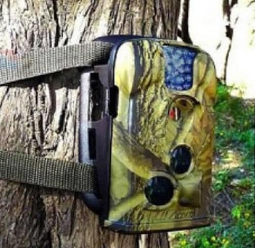 Hunting Scouting Trail Camera with Low Glow Blue IR Led (HT-03) !