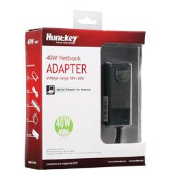 HUNTKEY 40W MINI NOTEBOOK UNIVERSAL ADAPTER CHARGER