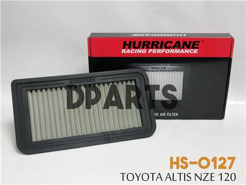 HURRICANE Stainless Steel Air Filter for TOYOTA Altis NZE 120 #OFFER##