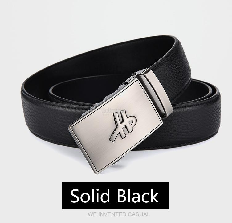 Hush Puppies 2018 - HP Logotype Leather Belt for men